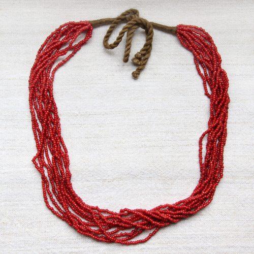 Naga multi-strand necklace by Kronbali