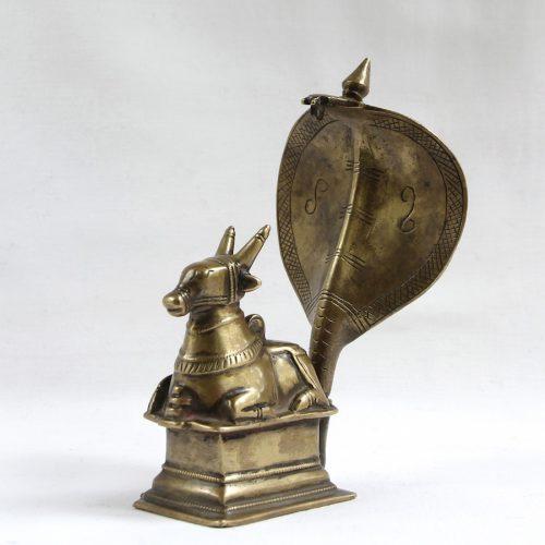Indian bronze Nandi