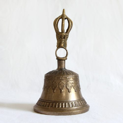 Buddhist Ghanta bell by Kronbali, Tibet