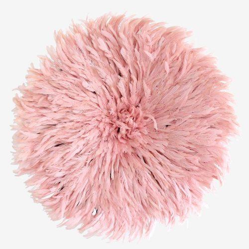 Powder pink Juju hat by Kronbali