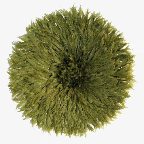 Olive green Juju hat by Kronbali