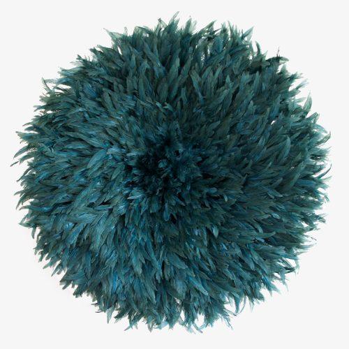 Petrol blue Juju hat by Kronbali