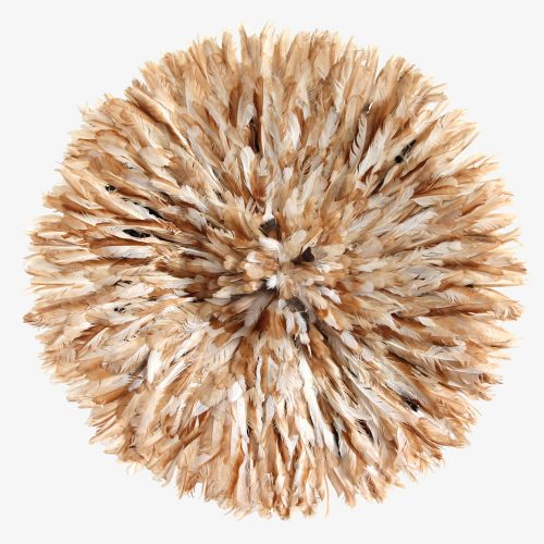 Natural brown Juju hat by Kronbali