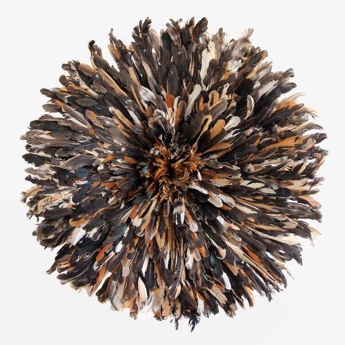 Wild black Juju hat by Kronbali