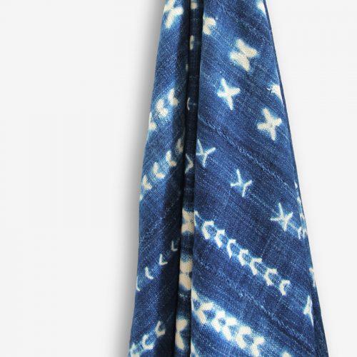 yoruba tiedye indigo textile