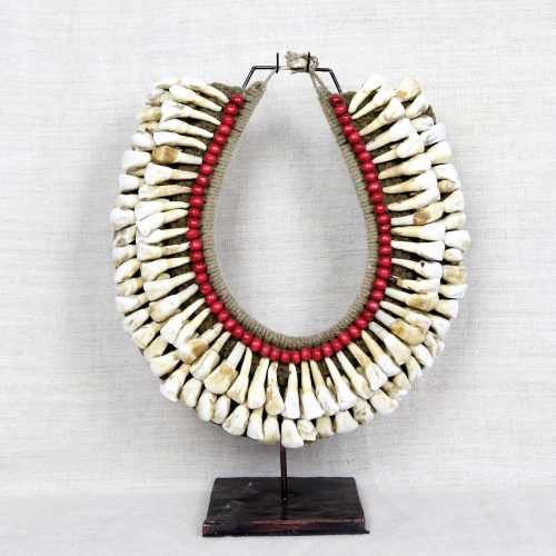 Papua New Guinea tribal necklace