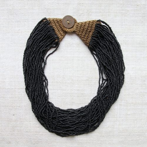 Naga bead necklace by Kronbali